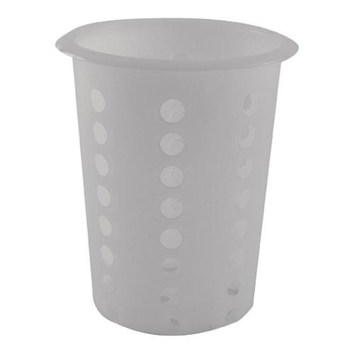 Winco - FC-PL - 4 1/4 in Plastic Flatware Cylinder