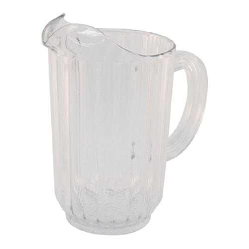 Rubbermaid 3335 Bouncer 48 oz Clear Pitcher for Restaurant Chef