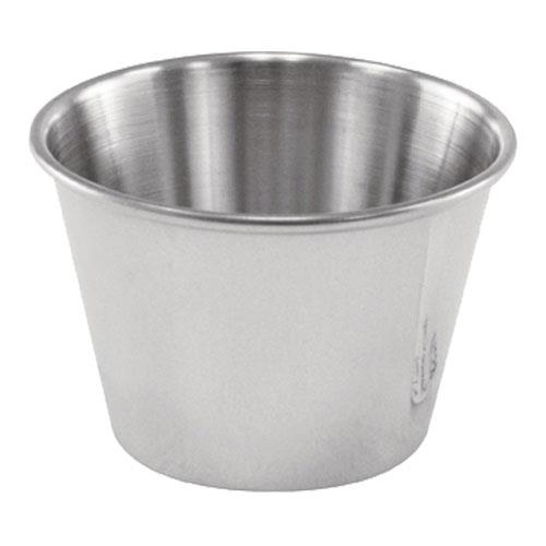 Update - SC-25 - 2 1/2 oz Stainless Steel Cocktail Dish/Sauce Cup