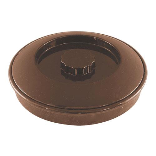 Carlisle - 47001 - 7 1/2 in Brown Tortilla Server With Lid