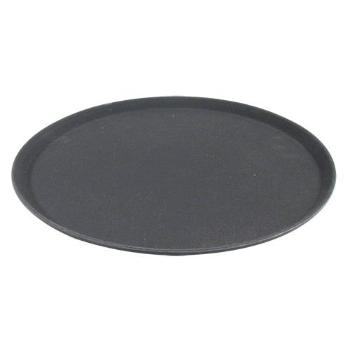 Carlisle - 1600GR004 - 16 in Griptite™ Round Black Serving Tray