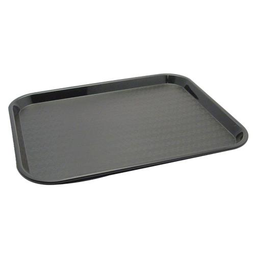 Carlisle - CT141803 - 14 x 18 in Cafe® Black Food Tray