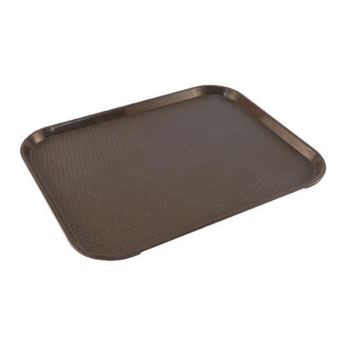 Carlisle - CT141869 - 14 in x 18 in Cafe® Brown Food Tray