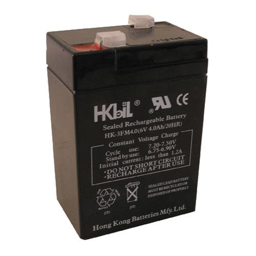 Commercial - 4 Amp/Hr Emergency Exit Light Battery