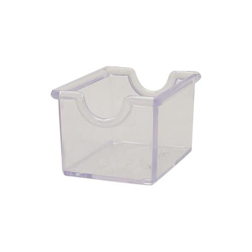 Winco - PPH-1C - Clear Plastic Sugar Packet Holder