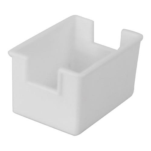 Winco - PPH-1W - White Plastic Sugar Packet Holder