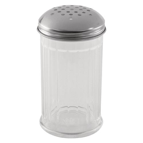 Adcraft - PSJ-12PT - 12 oz Plastic Cheese Shaker