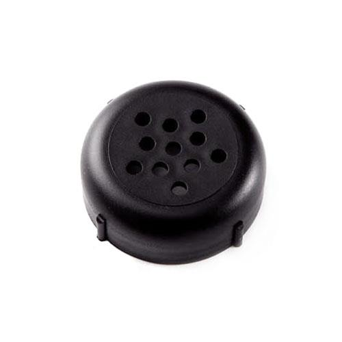American Metalcraft 244B 6 & 8 oz Black Shaker Lid for Restaurant Chef