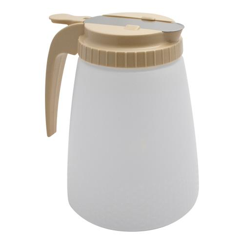 Tablecraft - 748A - 48 oz Plastic Dressing/Syrup Dispenser