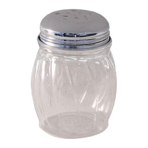 Tablecraft P260 6 oz Plastic Cheese Shaker for Restaurant Chef