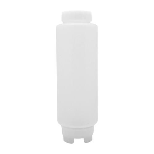 FIFO 20 oz Thin Tip Squeeze Bottle for Restaurant Chef