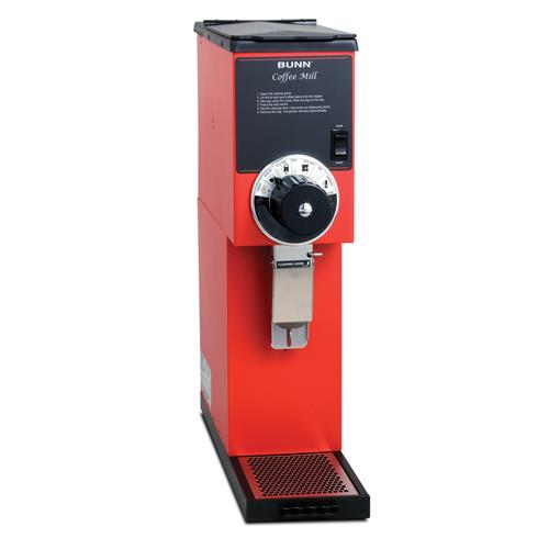 2 Lb Bulk Coffee Grinder - Red