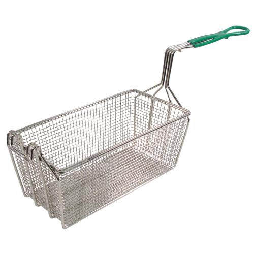 "FMP - 225-1069 - Heavy Duty Fryer Basket 12 7/8 x 6 1/2"" x 5 3/8"""