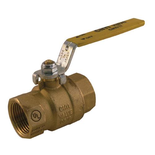 Dormont - 100FV - 1 in Gas Ball Valve
