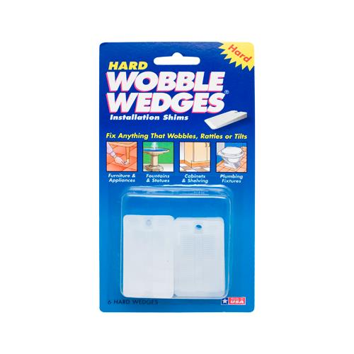 Wobble Wedge - 624 - 6 White Wobble Wedges