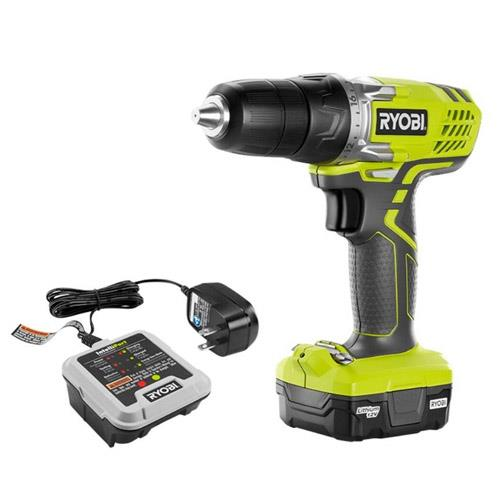 Cordless Lithium-Ion Drill Kit
