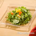 "EMI Yoshi - EMI-WP7 - 7"" Square Wave Clear Salad Plate image"