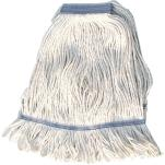 Winco - MOP-32W - 32 Oz White Looped End Mop Head image