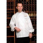 Chef Works - ECCB-XL-48 - Monte Carlo Chef Coat (XL) image