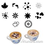 World Cuisine - 47859-01 - 10-Piece Cappuccino Assorted Stencil Set image