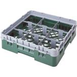 Cambro - 9S318 - Camrack 9 Section 3 5/8 in Glass Rack image