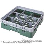 Cambro - 9S800 - Camrack 9 Section 8 1/2 in Glass Rack image