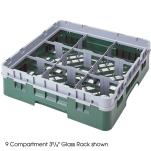 Cambro - 9S958 - Camrack 9 Section 10 1/8 in Glass Rack image