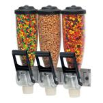 Server - 86660 - Triple 2 L Dry Food Dispenser image