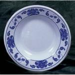 "Thunder Group - 1107TB - 7"" Lotus Soup Plate image"