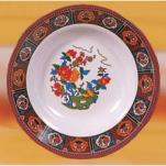 "Thunder Group - 1107TP - 7"" Peacock Soup Plate image"