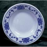 "Thunder Group - 1110TB - 10 3/8"" Lotus Soup Plate image"