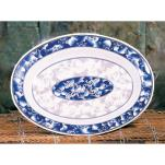 "Thunder Group - 2112DL - 12"" x 9"" Blue Dragon Oval Platter image"