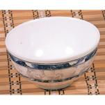 Thunder Group - 3004DL - 12 oz. Blue Dragon Rice Bowl image