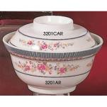Thunder Group - 3201AR - 20 oz. Rose Noodle Bowl w/o Lid image