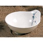 Thunder Group - 3501BB - 6 oz. Blue Bamboo Sauce Bowl image
