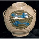 Thunder Group - 3502J - 9 oz. Wei Miso Bowl w/ Lid image
