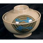 Thunder Group - 3506J - 10 oz. Wei Miso Bowl w/ Lid image