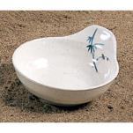"Thunder Group - 3545BB - 4 1/2"" Blue Bamboo Saucer image"
