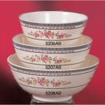 Thunder Group - 5207AR - 43 oz. Rose Rice Bowl image