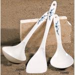Thunder Group - 7008BB - Blue Bamboo Rice Ladle   image