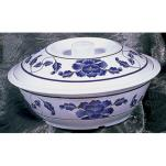 Thunder Group - 8010TB - 63 oz. Lotus Serving Bowl w/Lid image