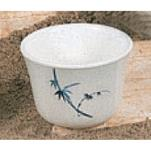 Thunder Group - 9152BB - 5 oz. Blue Bamboo Tea Cup image