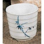 Thunder Group - 9302BB - 10 oz. Blue Bamboo Tea Cup image