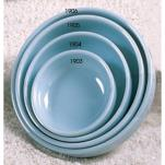 "Thunder Group - 1904 - 4 1/2"" Blue Jade Flat Bowl image"