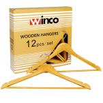 Winco - WCH-1 - Wood Coat Hanger image