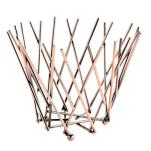 American Metalcraft - FRU5 - Tall Copper Thatch Basket image
