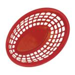 GET Enterprises - OB-734-R - 7 3/4 in Red Oval Basket image