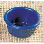 "Thunder Group - ML507CB - 2 1/2""-1.5 oz. Cobalt Blue Fluted Ramekin image"