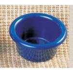"Thunder Group - ML534CB - 2 1/2""- 2 oz. Cobalt Blue Smooth Ramekin  image"