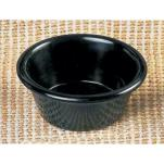 "Thunder Group - ML536BL - 2 7/8""- 2 oz. Black Smooth Ramekin  image"